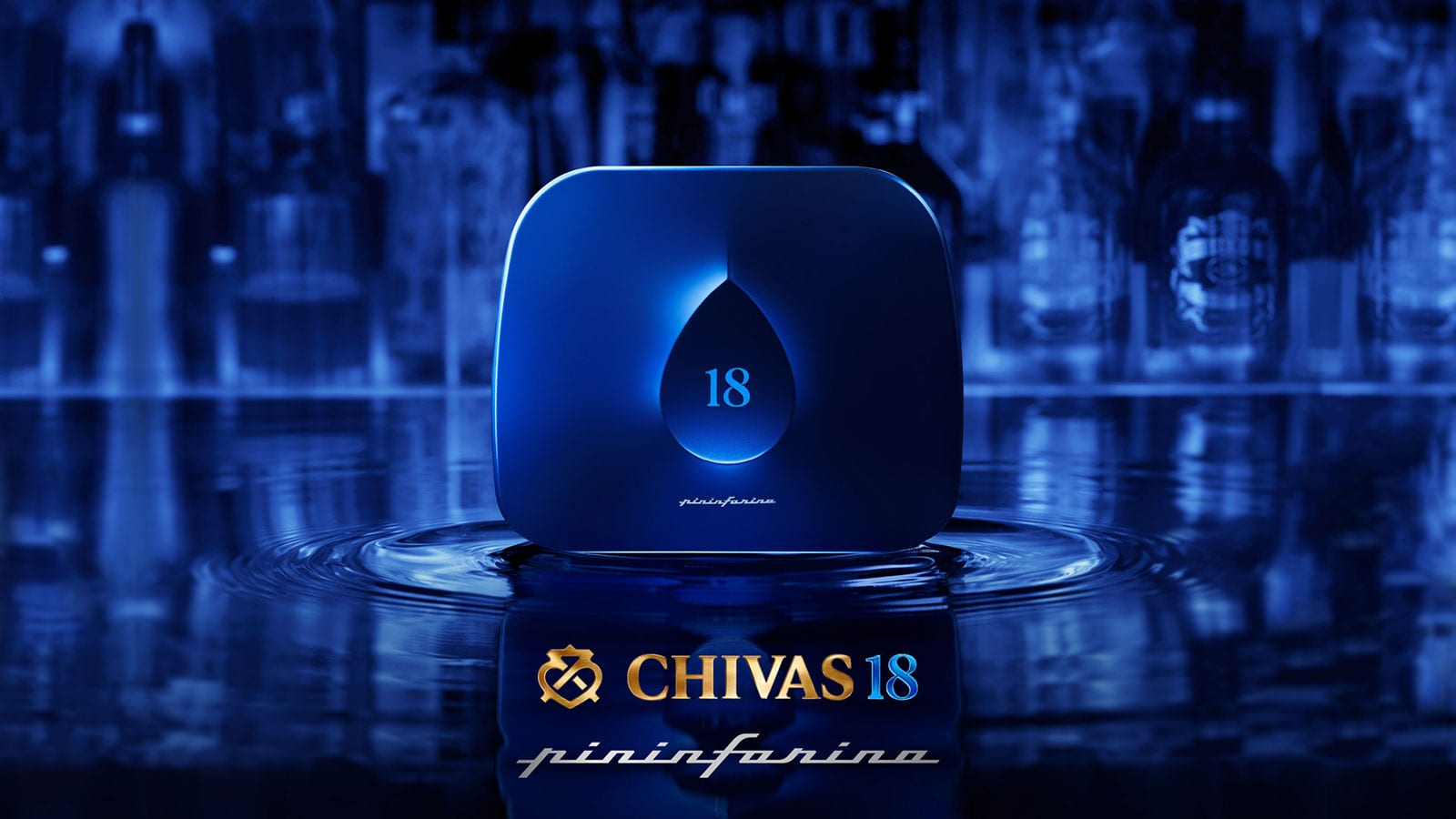 CHIVAS REGAL - CHIVAS 18 BY PININFARINA YEAR 1